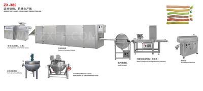 ZX-380 淀粉软糖、奶糖生产线