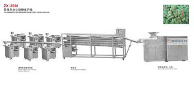 ZX-300I 圆柱形夹心奶糖生产线